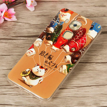 TPU Case For Huawei Nova plus 3D Colored Prined Soft Silicone Clear Cover Cases For Huawei Nova Plus G9 Plus Flowers Cats Capa