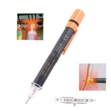 AYHF-Non-Contact Voltage Detector Electrical Circuit Wire Tester Pen AC90~600V AF Grey yellow(China)