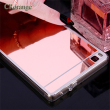 CRorange Mirror Soft Case For Huawei P10 Lite Case Mate 7 8 9 TPU Cover For Huawei P10 Plus case Honor 8 7 6X 4X Honor 9 Case