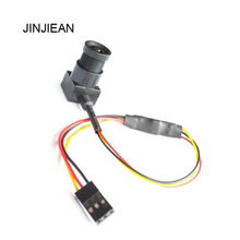 JINJIEAN Super Mini Wide Angle 700TVL 3.6mm NTSC Format FPV Camera for RC QAV250 FPV Aerial Photography(China)