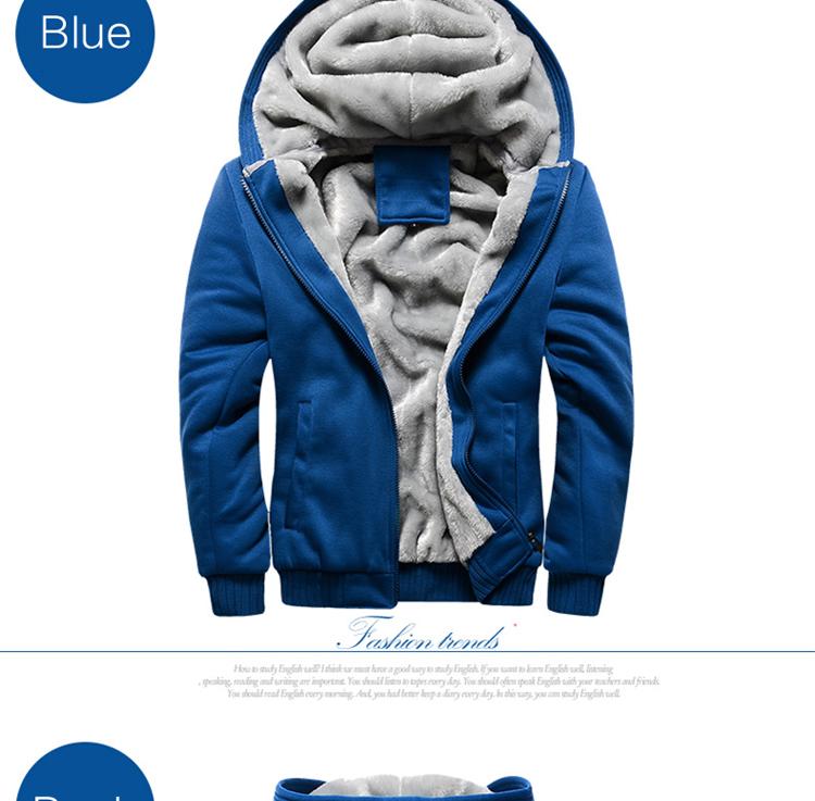 Hoodies Sweatshirt Men 17 New Autumn Winter Warm Thick Solid Casual Brand Tracksuit Men's Sweatshirts Hooded Plus Size 5XL 6