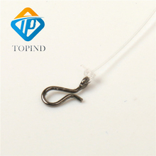 Snap hook,TOPIND Lure Line Connector 100PCS Stainless Steel Fish Snap Quick Change Swivel Fish Accessories