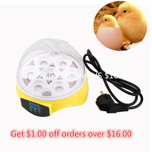 2017 Hot Selling HHD Mini Egg Incubator 7PCS Eggs Automatic Poultry Chicken Hatcher Machine