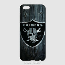 High Quality Cell phone case For iPhone 6 6S 7 Plus SE 5 5S 5C 4 4S iPod Touch 6 5 Case Hard PC Oakland Raiders Patterned Cover(China)