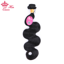 Indian Human Hair Weave Bundle Body Wave Bundles Remy Hair Extensions 1B Natural Color Queen Hair Can Be Dyed Free Shipping(China)