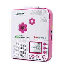 Panda f-362 repeat machine long 800 seconds tape recording lithium battery charging five variable speed playback(China)