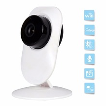 Mini WiFi 720P HD Wireless IP Camera 2-way Audio Wide Angel Baby Monitor Remote View Surveillance by iOS iPhone Android Phone