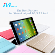 IVI Cover for Xiaomi mi pad 3 2 1 Case mipad 2 3 Case 7.9 inch Luxury Leather Flip Cases Holder Sleep Rose Gold Black Pink Lake