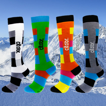 2017 New Adults Kids High Quality Warm Ski Socks Winter Snowboard Long Socks for Men and Women(China)