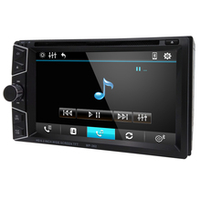 FREE Shipping Car DVD GPS Navigation 2DIN Car Stereo Radio GPS Bluetooth USB/SD Universal Player