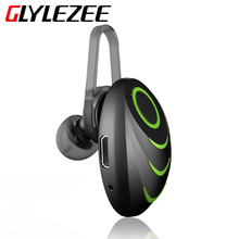 GLYLEZEE Bluetooth Headset 4.0 Handfree Wireless Mini Bluetooth Earphone with Mic Car for Phone Call for iPhone Samsung Xiaomi