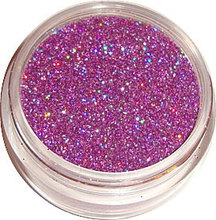 Hot Pink Holographic Glitter Nail Art Glitter Powder Dust For UV GEL Acrylic Decoration Tips, 5g jar. Free shipping