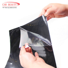 30x152cm Car Sticker Glossy Black 5D Carbon Fiber Vinyl Wrap Film DIY Car Decorative For  Motorcycle Motor car truck etc