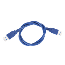 60cm USB 3.0 Cable mining data cable USB 3.0 PCI-E Express Riser Card Adapter USB Cord for bitcoin Mining machine