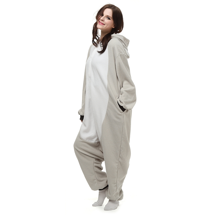 Kigurumi-Anime-Cosplay-Costume-Grey-Koala-Animal-Onesie-Pajama-For-Halloween-Carnival