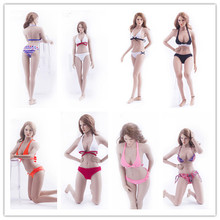 On Sale 1/6 Scale Action Figure Accessories Female Underwear Sexy Bikini Swimsuit Clothing Sets For Large Bust Figure