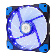 ALSEYE 120mm LED Cooler Fan for Water Cooler Computer Fan Radiator 12V 3-4pin 1300RPM Computer Case Fan LED x 15 pieces(China)
