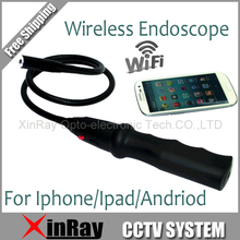 New Wifi Wireless Endoscope Camera Tool Camera Inspection Snake Camera For Android IOS EW13 Phone Tablet PC Freeshpping(China)