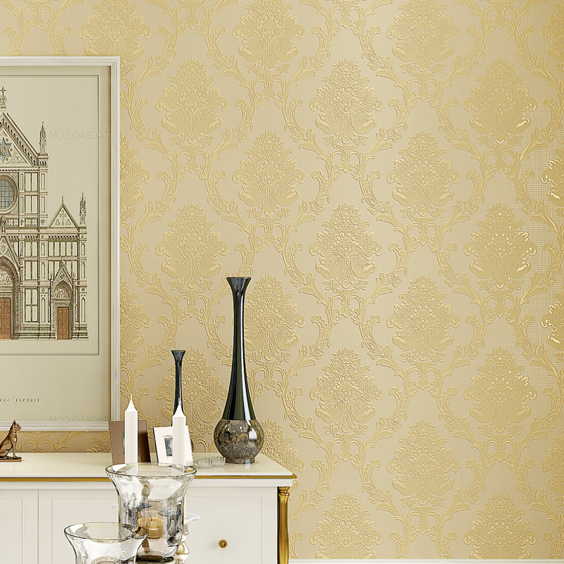 Luxury Classic Wall Paper Modern 3D Embossed Wall Paper Roll Background Wallpaper For Living Room Bedroom Home Decorative WP211<br>