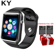 KY A1 Bluetooth smart watch android os Sim Pedometer Bluetooth Tf camera Telefon Uhr Relogios not waterproof smart wacht women(China)