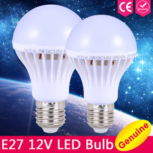 E27 LED Bulb Lights 3W 5W 7W DC 12V Led Lamp E27 9W 12W 15W Energy Saving Lampada 12 Volts Led Light Bulbs for Outdoor Lighting