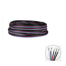 1m 2m 3m 4m 5m 10m 20m 50m 100m RGBW 5pin connector wire 5 channel extend cable for RGBW led strip conector for strip RGBW RGBWW