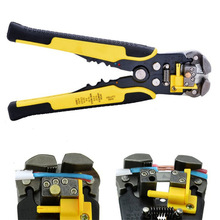 Automatic Cable Wire Stripper Self Adjusting Crimper Terminal Tool AWG24-10(0.2-6.0MM2)