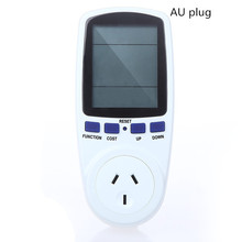Power Meter Watt Voltage Energy Consumption Electricity Monitor LCD AU Plug