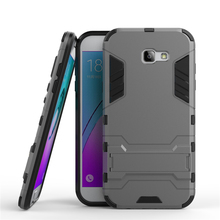 Buy Soft TPU Back Hard Hybrid Rugged Armor Cases Samsung A720 Plastic Luxury Shockproof Cover Samsung Galaxy A7 2017 Case for $2.87 in AliExpress store