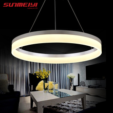 2017 Simple LED Pendant Lights For Bedroom lamparas colgantes pendientes Home Decoration Lamp Lighting hanglamp luminaire(China)