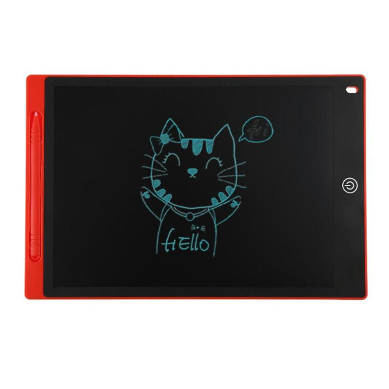 VAKIND 12inch Digital LCD Drawing Tablet Kids Practice Writing Pad Graphic Painting Board Electronic Notepad Memo Notes Reminder