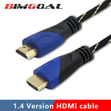BIMGOAL HDMI Cable 4K 1080P HDMI to HDMI Cable 5m 1m 10m HDMI Cable Adapter 3D for TV LCD laptop PS3 projector computer(China)