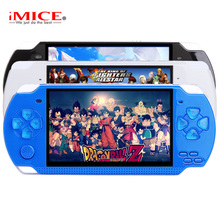 X6 Portable Handheld Game Console 8GB 4.3'' 32Bit 1000 Childhood Classic Games Built-In Portable Handheld Video Game Player(China)