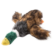 Cute Interactive Cat Toy Wild Duck Skunk Squeak Toys Scratch Stuffed Plush Play Chew Dog Pet Products 2017 Hot selling(China)