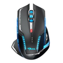 Gaming Mouse E-3LUE EMS601 2.4Ghz 2500DPI Wireless Mouse Blue LED Two color Black and White Mouse for Dota Gamer 2017New(China)