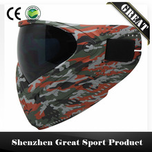 GREAT Red Ghost Camo Tactical Military PAINTBALL MASK DYE I4 Thermal Lenses Goggle(China)