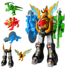 Dinosaur toys gift 6-7-8 - year - old king bat boy's favourite deformation toys God beast combiners deformation robot