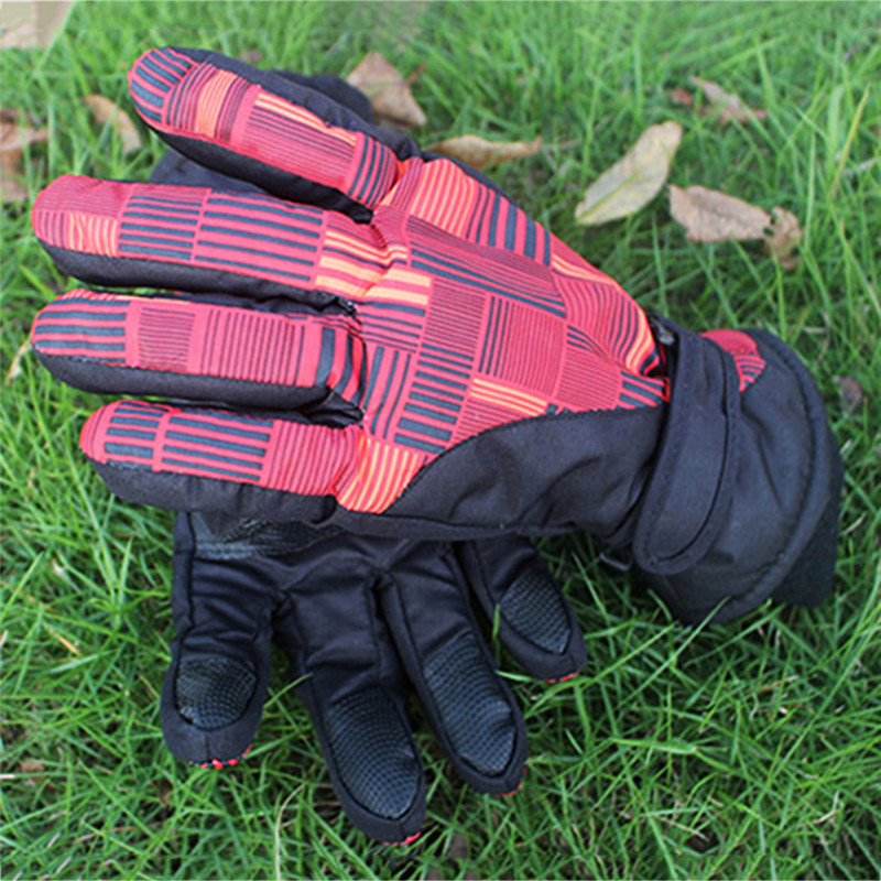 Ski Gloves Men Women Snowboard Gloves Snowmobile Motorcycle Riding Winter Windproof Waterproof Warm Gloves Snow Skiing Equipment 2