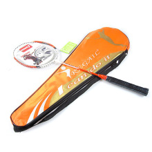 Regail 8008 Quality Carbon Fiber Badminton Racket Top Grade Match Rackets with Carry Bag Orange