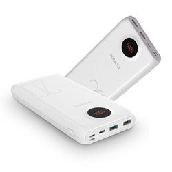 ROMOSS SW20 Pro портативный внешний аккумулятор со светодиодным дисплеем, 20000 мАч