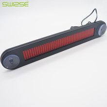 Car Auto Red LED Programmable Message Sign Scrolling Moving Display Board with Infrared Remote Controller Car LED Display Board