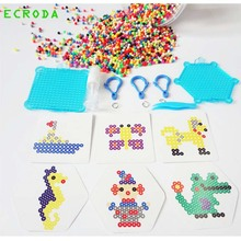 Water beadbond children's educational toys DIY Magic Beads puzzle Packed magical water fight Peas bucket packed kits free ship(China)