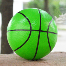 1Pc 20cm Outdoor Kdis Toys Kindergarten Children Basketball Inflatable Small Ball Hand Patted The Ball W20(China)