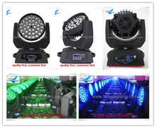 Y-led moving head wash light copy robe robin 600 36 10 watt led wash moving head rgbw zoom light
