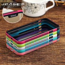 JCASE Bumper Fashion Soft Silicon Case For iPhone 6S plus funda Coque Fight Border case For iphone 7 8 plus Cover for iphone 5se(China)