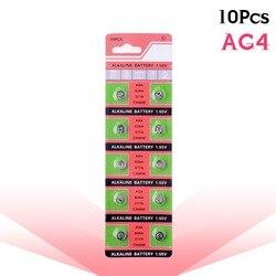 10 шт./комплект=1 карта, кнопочные батареи AG4 377A 377 LR626 SR626SW SR66 LR66