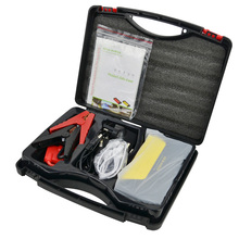 50800 mAh 4USB Car Jump Starter Emergency Charger Booster Power Bank Battery SOS DC output 12V with safety hammer