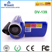 Freeshipping cheap 12MP digital video camera DV-139 4x digital zoom cheap photo and video camcorder