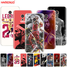HAMEINUO LeBron James Cover phone Case Meizu M6 M5 M5S M2 M3 M3S MX4 MX5 MX6 PRO 6 5 U10 U20 note plus
