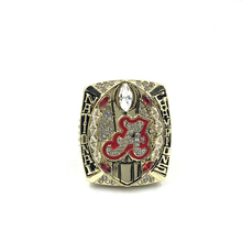 Replica New Arrival NCAA National College Sports 2015 Alabama Crimson Tide Football Championship Ring Size 11
